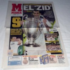 Coleccionismo deportivo: DIARIO MARCA CHAMPIONS LEAGUE 2002 FINAL REAL MADRID BAYERN LEVERKUSEN LA NOVENA EL ZID. Lote 199090471
