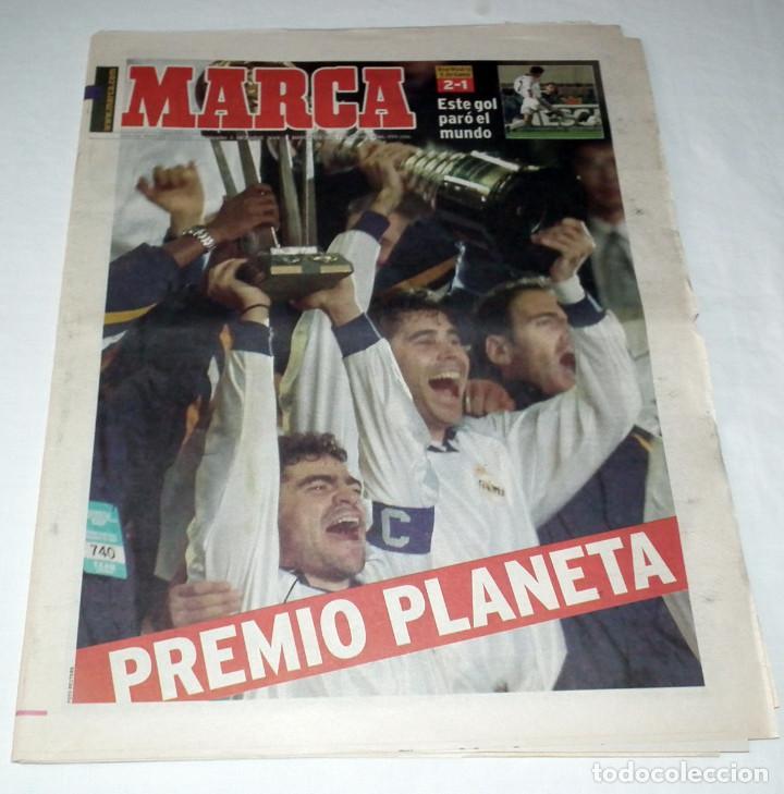 DIARIO MARCA COPA INTERCONTINENTAL 1998 - REAL MADRID 2 - VASCO DE GAMA 1 (Coleccionismo Deportivo - Revistas y Periódicos - Marca)