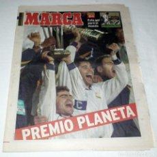 Coleccionismo deportivo: DIARIO MARCA COPA INTERCONTINENTAL 1998 - REAL MADRID 2 - VASCO DE GAMA 1. Lote 51793850