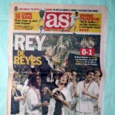 Coleccionismo deportivo: DIARIO AS CHAMPIONS LEAGUE 1998 - REAL MADRID-JUVENTUS - LA SÉPTIMA. Lote 86329356