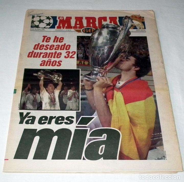 DIARIO MARCA 1998 - REAL MADRID-JUVENTUS CHAMPIONS LEAGUE - LA SÉPTIMA (Coleccionismo Deportivo - Revistas y Periódicos - Marca)