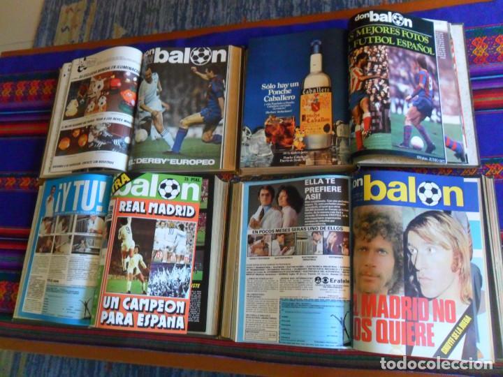 DON BALÓN 16 AL 33 EXTRA REAL MADRID 34 AL 45, 76 AL 90 MEJORES FOTOS FÚTBOL ESPAÑOL, 316 AL 330. BE (Coleccionismo Deportivo - Revistas y Periódicos - Don Balón)