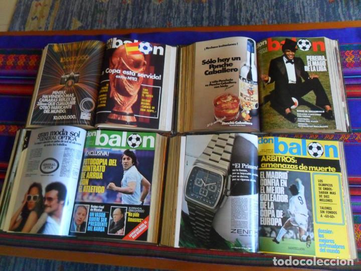 Coleccionismo deportivo: DON BALÓN 16 AL 33 EXTRA REAL MADRID 34 AL 45, 76 AL 90 MEJORES FOTOS FÚTBOL ESPAÑOL, 316 AL 330. BE - Foto 2 - 199186301