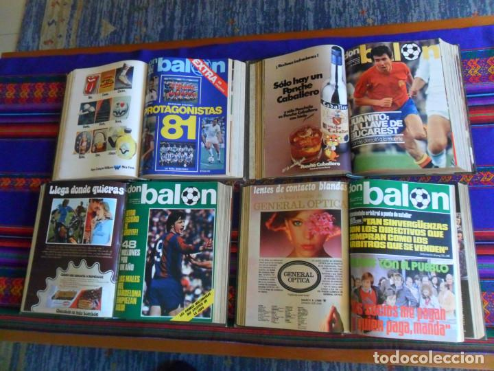 Coleccionismo deportivo: DON BALÓN 16 AL 33 EXTRA REAL MADRID 34 AL 45, 76 AL 90 MEJORES FOTOS FÚTBOL ESPAÑOL, 316 AL 330. BE - Foto 3 - 199186301