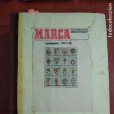 Coleccionismo deportivo: ENCUADERNACIÓN DIARIO DEPORTIVO MARCA AÑO 1957/58.. Lote 199206247