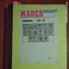 Coleccionismo deportivo: ENCUADERNACIÓN DIARIO DEPORTIVO MARCA AÑO 1955/56.. Lote 199206330