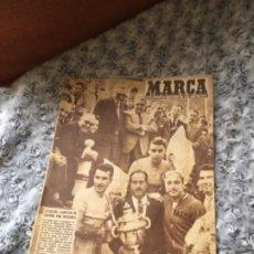 Coleccionismo deportivo: MUY ANTIGUO PERIODICO MARCA CATALUÑA CAMPEÓN DE ESPAÑA CICLISMO. Lote 199283545