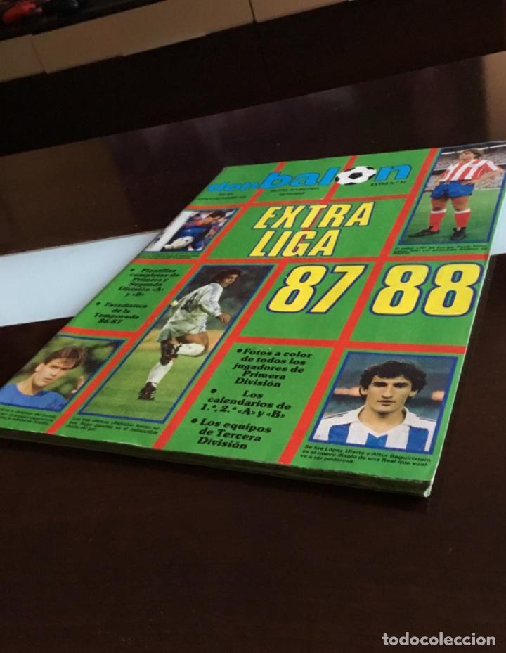 EXTRA DON BALON LIGA 87 - 88 I M P E C A B L E (Coleccionismo Deportivo - Revistas y Periódicos - Don Balón)