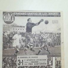 Coleccionismo deportivo: DIARIO MARCA. SEMANARIO GRAFICO DE LOS DEPORTES. 1941 Nº 109. Lote 199840176