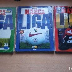 Collectionnisme sportif: 3 REVISTAS MARCA AÑOS (95-96)(97-98)(98-99). Lote 200298962