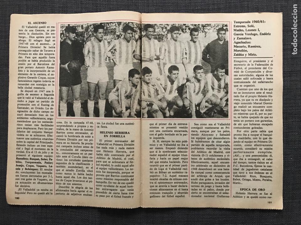 Coleccionismo deportivo: Historia Fútbol Español - Valladolid - Capítulo 6 - Colección don balón - as Marca álbum cromo - Foto 2 - 200372028