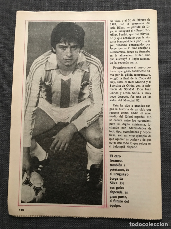 Coleccionismo deportivo: Historia Fútbol Español - Valladolid - Capítulo 6 - Colección don balón - as Marca álbum cromo - Foto 3 - 200372028
