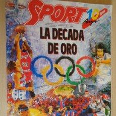 Coleccionismo deportivo: SPORT EXTRA 10º ANIVERSARIO. 1989. LA DÉCADA DE ORO. BUEN ESTADO.. Lote 200386086