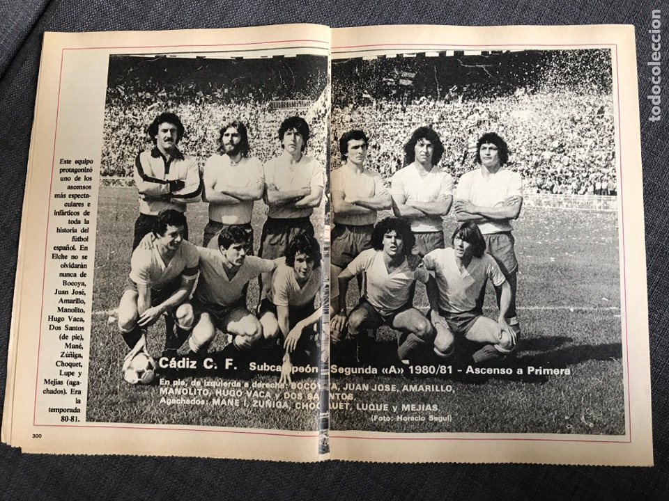 Coleccionismo deportivo: Historia Fútbol Español - Cádiz - capítulo 13 - colección don balón - as Marca cromo álbum - Foto 2 - 200558901
