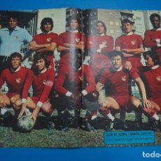 Coleccionismo deportivo: POSTER DE FUTBOL DEL C.F. TERRASA DE AS COLOR. Lote 201272051