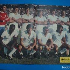 Colecionismo desportivo: POSTER DE FUTBOL DEL SEVILLA F.C. DE AS COLOR. Lote 201272183