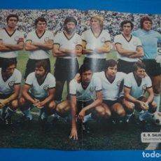 Colecionismo desportivo: POSTER DE FUTBOL DEL U.D. SALAMANCA DE AS COLOR. Lote 201272423