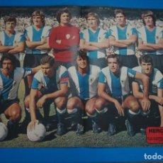 Coleccionismo deportivo: POSTER DE FUTBOL DEL HERCULES C.F. DE AS COLOR. Lote 201272887