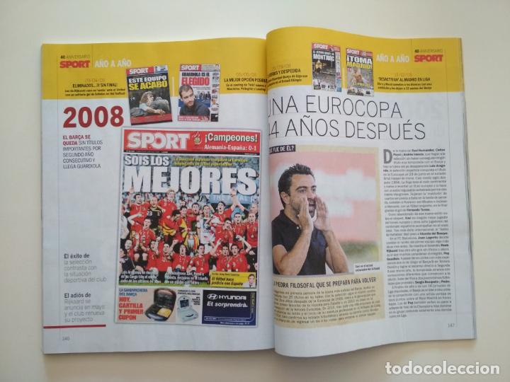 Coleccionismo deportivo: REVISTA 40 NIVERSARIOS DIARIO SPORT 1979-2019 - Foto 3 - 202004940