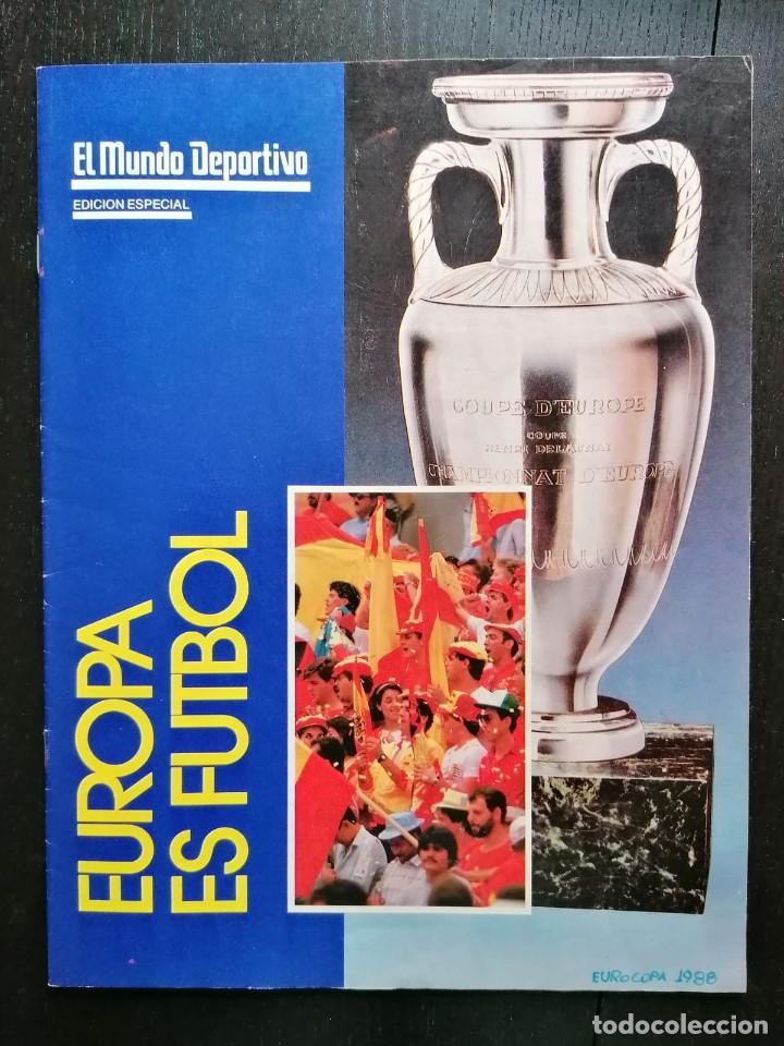 (LLL)MUNDO DEPORTIVO EXTRA ESPECIAL EUROCOPA 1988 (Coleccionismo Deportivo - Revistas y Periódicos - Mundo Deportivo)