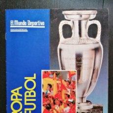 Colecionismo desportivo: (LLL)MUNDO DEPORTIVO EXTRA ESPECIAL EUROCOPA 1988. Lote 202077901