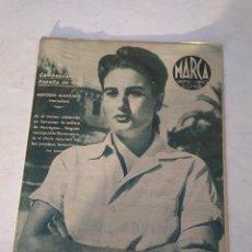 Coleccionismo deportivo: MARCA SUPLEMENTO GRAFICO Nº 33 CAMPEONATO DE ESPAÑA DE GOLF MERCEDES MARGARIT VENCEDOR 13 JULIO 1943. Lote 202535346