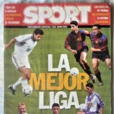 Coleccionismo deportivo: SUPLEMENTO ESPECIAL LIGA 2000-2001. DEL DIARIO SPORT. Lote 202537353
