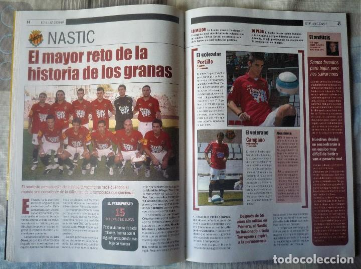Coleccionismo deportivo: SUPLEMENTO ESPECIAL LIGA 2006-2007. DEL DIARIO SPORT - Foto 3 - 202539542