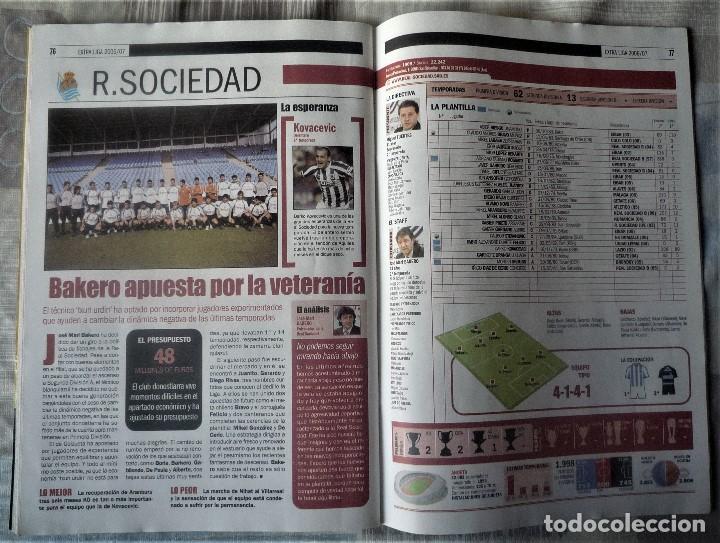 Coleccionismo deportivo: SUPLEMENTO ESPECIAL LIGA 2006-2007. DEL DIARIO SPORT - Foto 7 - 202539542