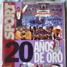 Coleccionismo deportivo: SUPLEMENTO ESPECIAL 20 ANIVERSARIO DEL DIARIO SPORT. Lote 202573116