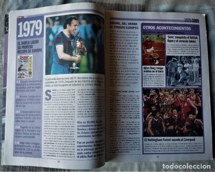 Coleccionismo deportivo: SUPLEMENTO ESPECIAL 20 ANIVERSARIO DEL DIARIO SPORT - Foto 2 - 202573116