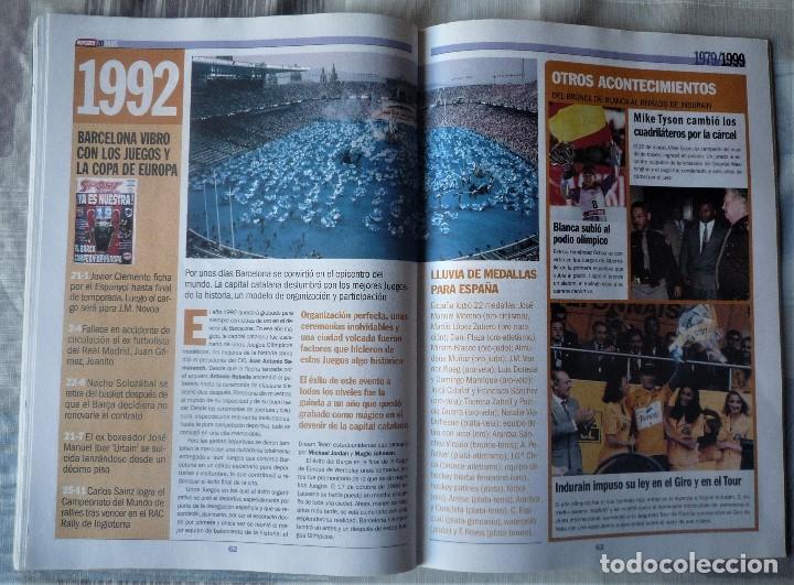 Coleccionismo deportivo: SUPLEMENTO ESPECIAL 20 ANIVERSARIO DEL DIARIO SPORT - Foto 6 - 202573116