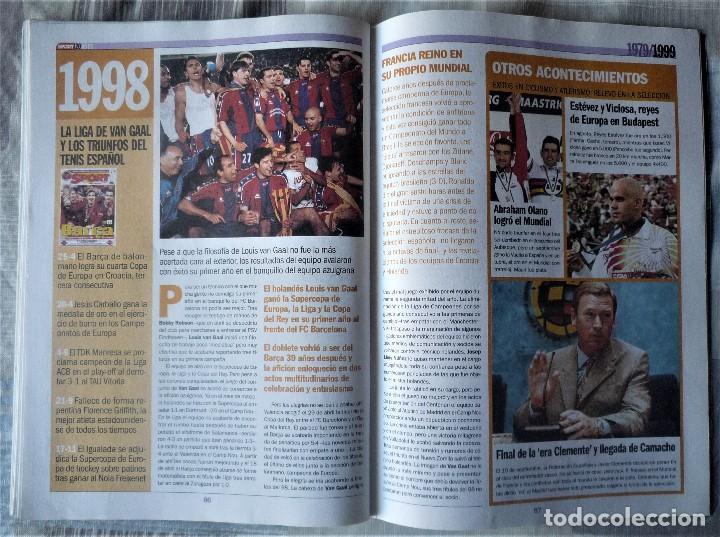 Coleccionismo deportivo: SUPLEMENTO ESPECIAL 20 ANIVERSARIO DEL DIARIO SPORT - Foto 8 - 202573116