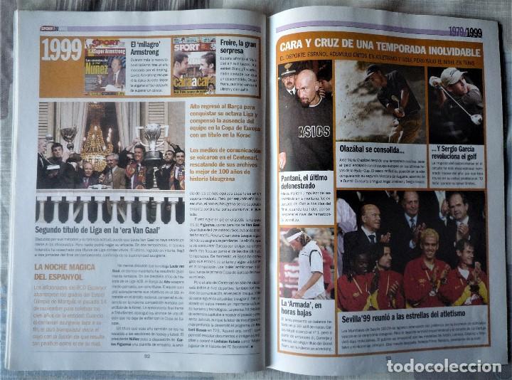Coleccionismo deportivo: SUPLEMENTO ESPECIAL 20 ANIVERSARIO DEL DIARIO SPORT - Foto 9 - 202573116