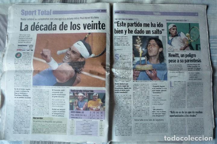 Coleccionismo deportivo: DIARIO SPORT DE 4 DE JUNIO DE 2006 - Foto 6 - 202582828