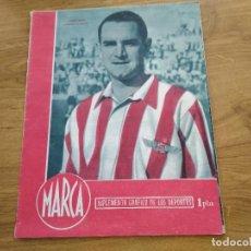 Coleccionismo deportivo: MARCA SUPLEMENTO GRAFICO DE LOS DEPORTES Nº 7 GABILONDO - AVIACION FIGURAS LLOVERA 7 NOVIEMBRE 1944. Lote 202589427