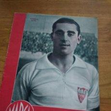 Coleccionismo deportivo: MARCA SUPLEMENTO GRAFICO DE LOS DEPORTES Nº 6 ALCONERO SEVILLA FIGURAS OLMOS 31 OCTUBRE 1944. Lote 202590052