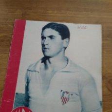 Coleccionismo deportivo: MARCA SUPLEMENTO GRAFICO DE LOS DEPORTES Nº 24 ARZA SEVILLA FIGURAS JUANITO MARTIN 6 MARZO 1945. Lote 202593006
