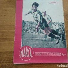 Coleccionismo deportivo: MARCA SUPLEMENTO GRAFICO DE LOS DEPORTES Nº 29 PORTUGUES CORUÑA FIGURAS CONSTANTINO 10 ABRIL 1945. Lote 202593302