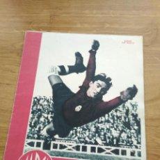 Coleccionismo deportivo: MARCA SUPLEMENTO GRAFICO DE LOS DEPORTES Nº 35 BAÑON MADRID FIGURAS MANCISIDOR 22 MAYO 1945. Lote 202593580