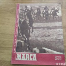 Coleccionismo deportivo: MARCA SUPLEMENTO GRAFICO DE LOS DEPORTES Nº 186 25 JUNIO 1945. Lote 202594443