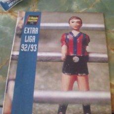 Colecionismo desportivo: EXTRA LIGA 92/93 MUNDO DEPORTIVO. Lote 202618777