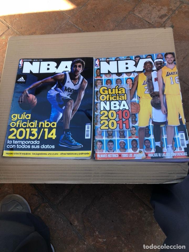 LOTE DE 2 GUIAS DE LA NBA (Coleccionismo Deportivo - Revistas y Periódicos - As)