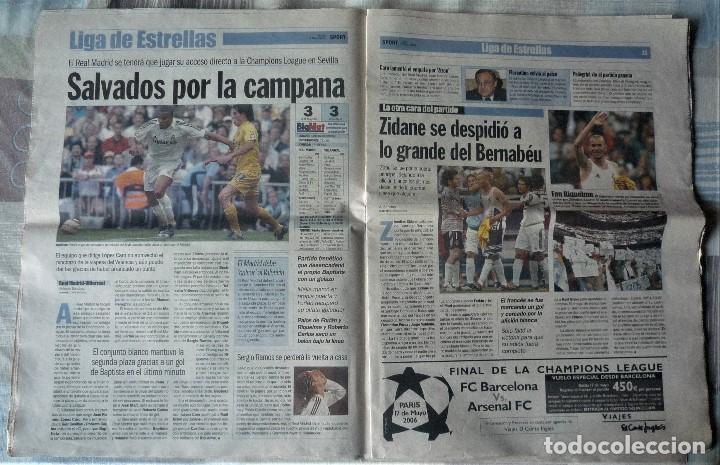 Coleccionismo deportivo: DIARIO SPORT DE 8 DE MAYO DE 2006 - Foto 5 - 202693458