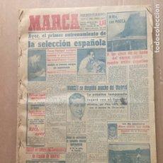 Collezionismo sportivo: MUNDIAL BRASIL 1950 TODOS LOS PERIÓDICOS MARCA. Lote 202874290