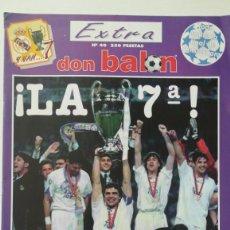 Coleccionismo deportivo: DON BALÓN REAL MADRID CAMPEÓN EUROPA CHAMPIONS 1998 LA 7 JUVENTUS EXTRA 40 MIJATOVIC. Lote 202883500