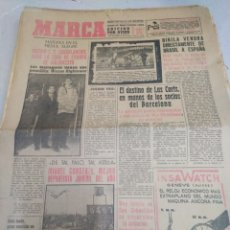 Coleccionismo deportivo: MARCA-30/12/61,N6218,MADRID-CASABLANCAIS BALONCESTO, EL DESTINO DE LOS SOCIOS DEL BARCELON. Lote 203499860