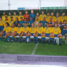 Collezionismo sportivo: FÚTBOL REVISTA DON BALÓN 1997 1998 MINI PÓSTER U.D. LAS PALMAS. Lote 203779808