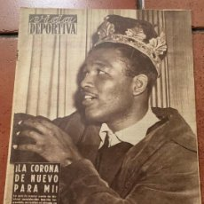 Coleccionismo deportivo: ANTIGUO PERIODICO DEPORTIVO VIDA DEPORTIVA 1955. TODA FOTOGRAFIADA. REPORTAJES MUY INTERESANTES.... Lote 203907627