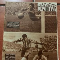 Coleccionismo deportivo: ANTIGUO PERIODICO DEPORTIVO VIDA DEPORTIVA 1951. TODA FOTOGRAFIADA. REPORTAJES MUY INTERESANTES.... Lote 203909380